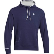 Under Armour Men's Storm Cotton Rival Hoody - Midnight Navy/White