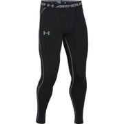 Under Armour Men's Armourvent Compression Training Leggings - Black/Black/Steel