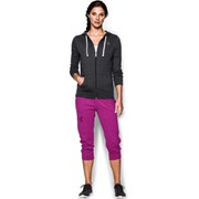 Under Armour Women's Triblend Full Zip Hoody - Black/Black Marl