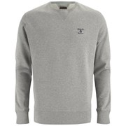 Barbour Men's Standards Heritage Crew Sweatshirt - Grey Marl