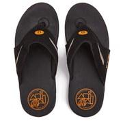 Animal Men's Fader Premium Flip Flops - Black