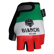Bianchi Ter Gloves - Green/White/Red