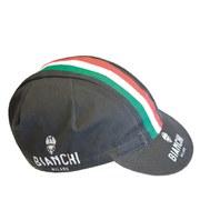 Bianchi Neon Cycling Cap - Black