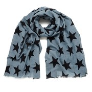 BeckSondergaard Women's Supersize Nova Scarf - Blue Shadow