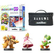Mario Party 10 amiibo Mixer Pack - Mario, Bowser, Peach & Yoshi