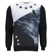 Hack Men's Eos Print Sweatshirt - Black