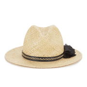 French Connection Women's Annie Fedora - Natural