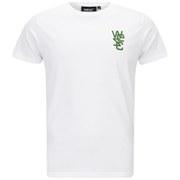 WeSC Men's Overlay Branded T-Shirt - White