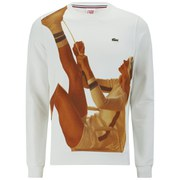 Lacoste L!ve Vintage Ads Men's Sweatshirt - Multi
