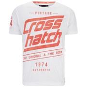 Crosshatch Men's Sceran T-Shirt - Optic White