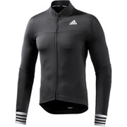 adidas Men's Adistar Long Sleeve Jersey - Black