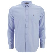 Gabicci Vintage Men's Button-Down Oxford Shirt - Sky