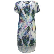 Numph Women's Printed Tunic Dress - Waterfall