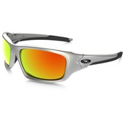 Oakley Valve Sunglasses - Silver/Fire Iridium Polarized
