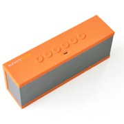 The Elevate Breve Portable Bluetooth Speaker - Orange/Silver