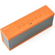 The Elevate Breve Portable Bluetooth Speaker - Orange/Silver
