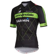 Cannondale Garmin Team 2.0 Jersey Fz - Black/Green