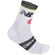 Cannondale Garmin Free 9 Socks - White