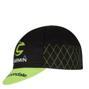 Castelli Cannondale Garmin Cycling Cap - Black/Green