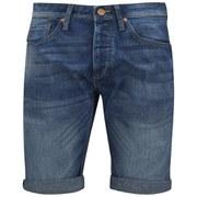 Jack & Jones Men's NOOS Rick Original Shorts - Mid Blue