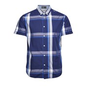 Jack & Jones Men's Short Sleeved Type Shirt - Blue Check