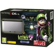 Nintendo 3DS XL Silver/Black + Luigi's Mansion 2