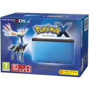 Nintendo 3DS XL Blue/Black + Pokemon X