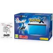 Nintendo 3DS XL Blue/Black + Pokemon X