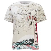 Carven Women's Printed T-Shirt - White