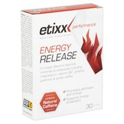 Etixx Energy Release Tablets - 30 Pieces