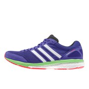adidas Women's Adizero Boston 5 Running Shoes - Purple/Zero Met/Green