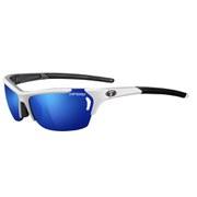 Tifosi Radius Clarion Mirror Sunglasses - White/Clarion Blue