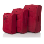 Redland '50FIVE Collection' 2 Wheel Trolley Set - Red - 75/65/55cm (3 Piece)