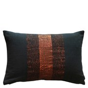 Dark Mineral Cushion - Copper
