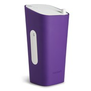 Sonoro Cubo Go New York Portable Bluetooth Speaker - White/Purple