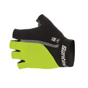 Santini Gel Mania Summer Mitts - Yellow