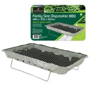 GardenKraft Family Size Disposable BBQ