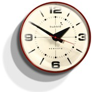 Newgate Bubble Wall Clock - Red