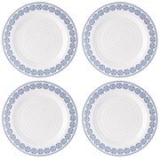 Sophie Conran for Portmeirion Dinner Plate - Florence - White (Set of 4)