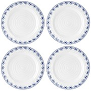 Sophie Conran for Portmeirion Dinner Plate - Maud - White (Set of 4)