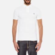 Polo Ralph Lauren Men's Slim Fit Short Sleeved Polo Shirt - White