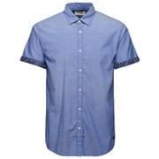 Jack & Jones Men's Originals Box Short Sleeve Shirt - Surf the Web