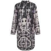 Religion Women's Hollow Kaftan Dress - Smokey Grape