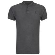 Religion Men's Oil Wash Chalice Polo Shirt - Khaki
