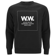 Wood Wood Men's Square Sweatshirt - Black