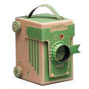 Viddy Pop Up Pinhole Camera Kit - Green