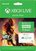 Xbox Live 12 Month Gold Starter Pack