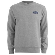 Billionaire Boys Club Men's Small Arch Logo Crew Neck Sweatshirt - Heather Grey