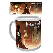 Attack on Titan Key Art - Mug