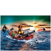 Playmobil Pirate Rowboat (5137)